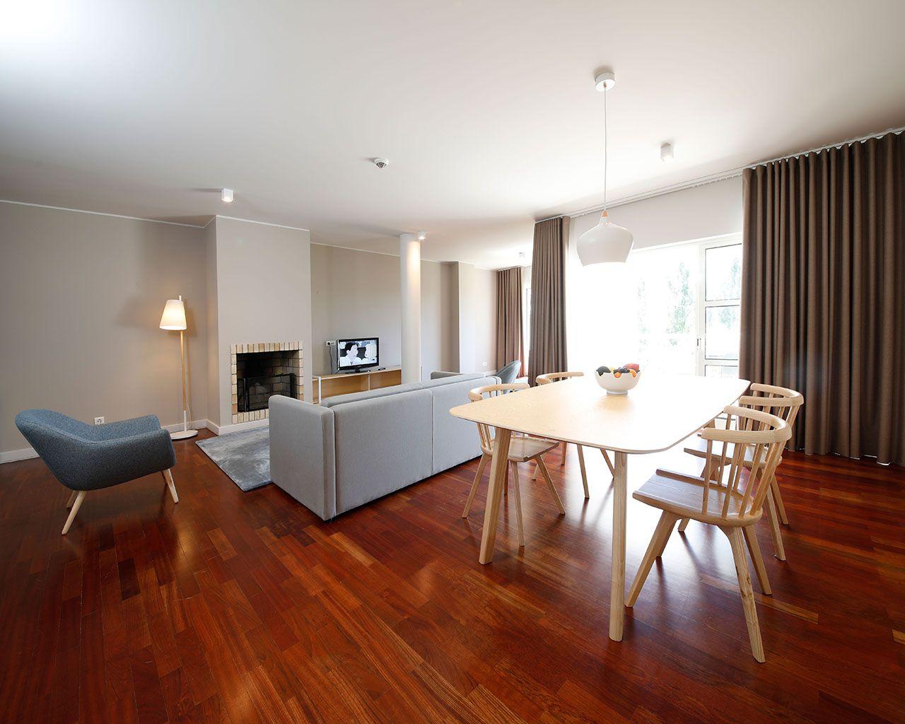 Sala de Estar - Apartamento T1 Premium