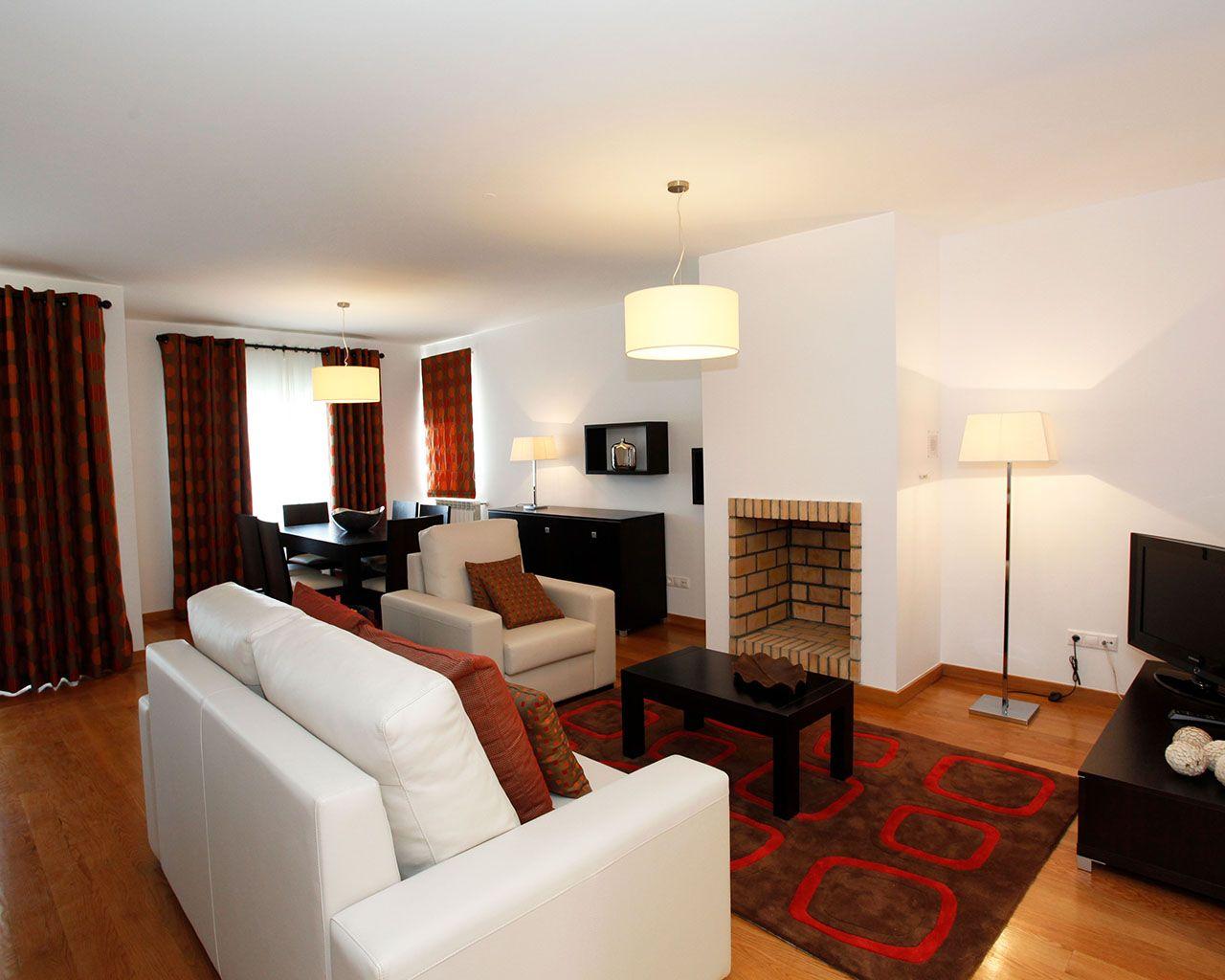 Sala de Estar - Apartamento Triplex