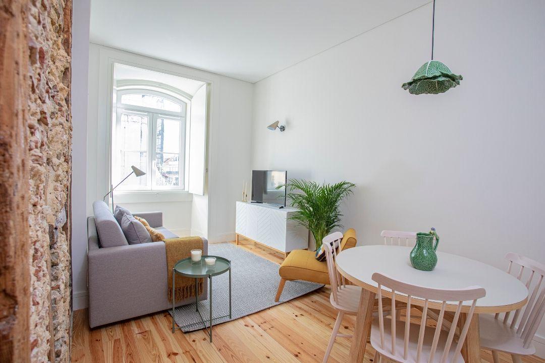 Sala de Estar - Apartamento T1