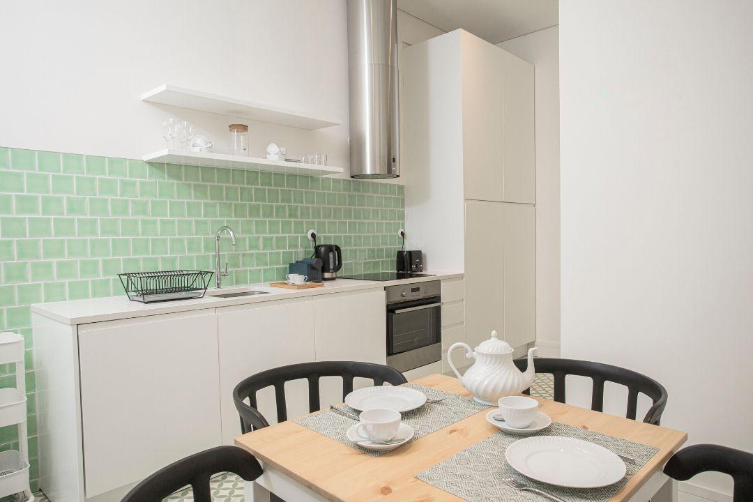 Cozinha - Apartamento T1