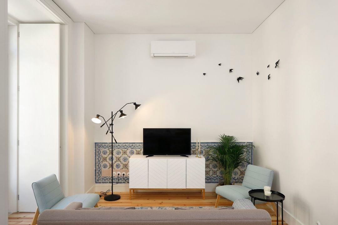 Sala de Estar - Apartamento T2