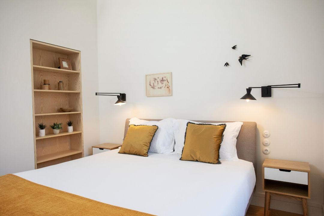 Quarto com Cama de Casal - Apartamento T2