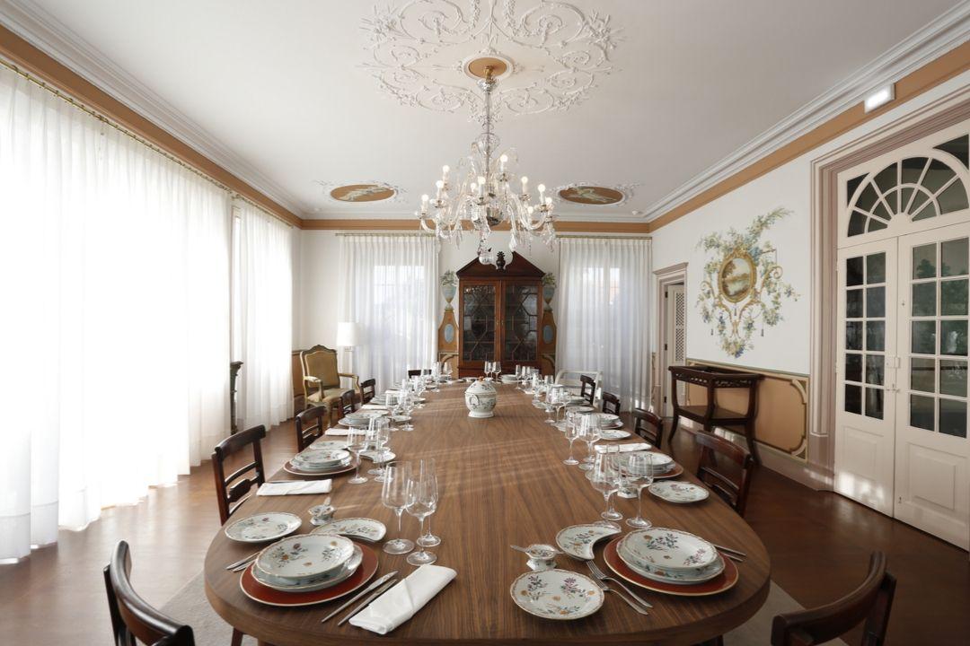 Sala de Jantar - Palácio da Vista Alegre