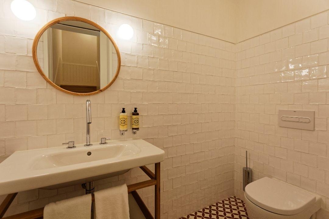 Apartamentos - Casa de Banho de Apoio - Bairro Vista Alegre