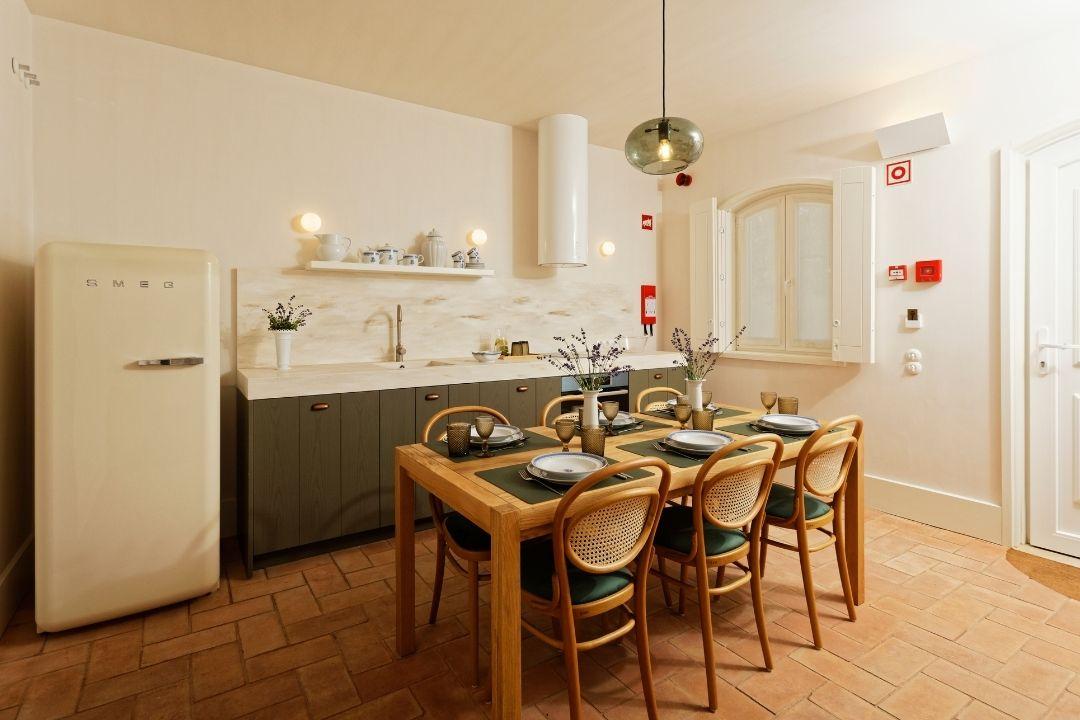 Apartamentos - Sala de Estar e Cozinha - Bairro Vista Alegre