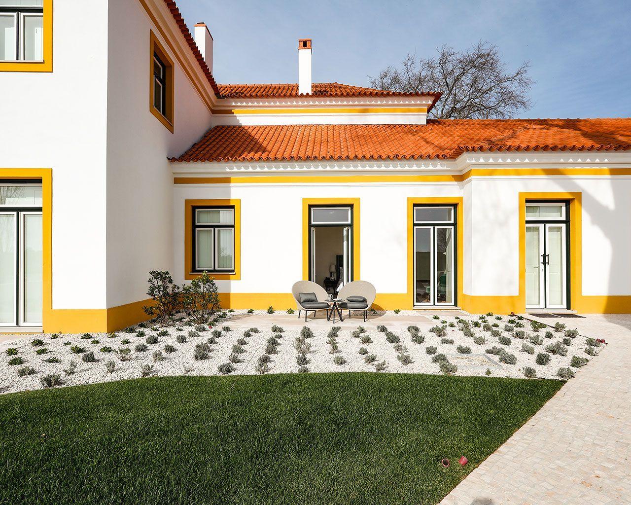Área Exterior - Palácio dos Pintores