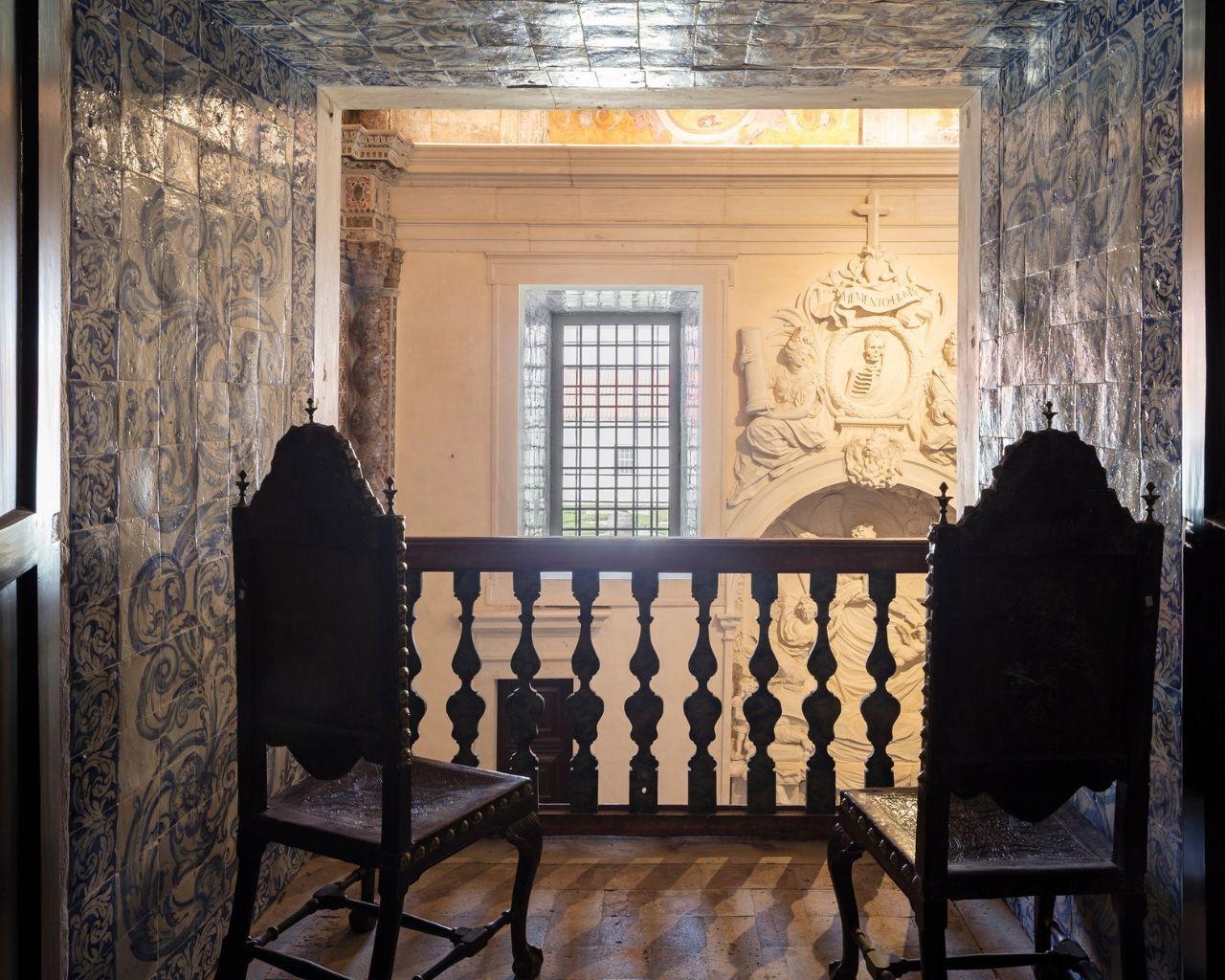 Suíte - Palácio dos Fundadores - Vista Privilegiada para o Altar da Capela