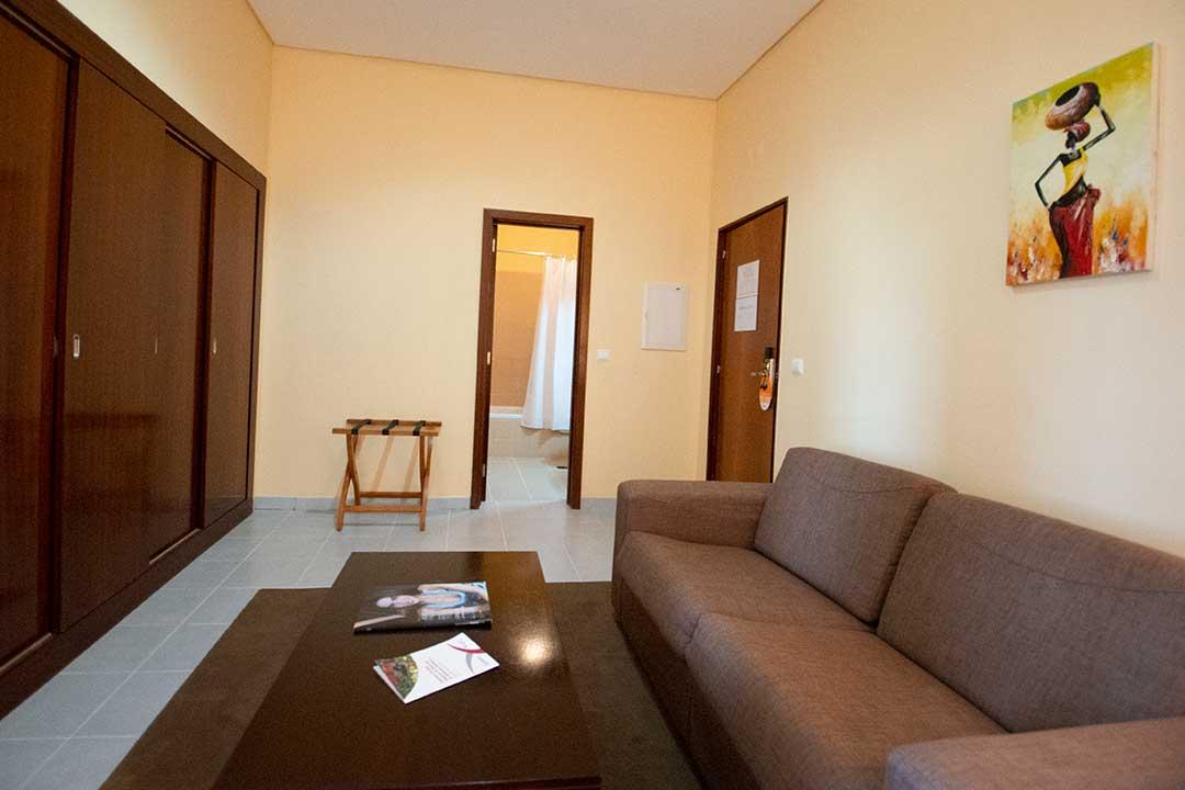 Júnior Suite living room